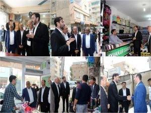 Nusaybinlilerden HÜDA PAR aday adaylarına yoğun ilgi