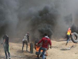 Filistin'deki protestolarda 7 kişi şehit oldu