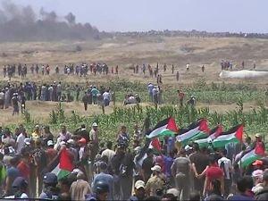 İşgalci siyonistler Filistin'de katliam yapıyor