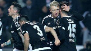 Beşiktaş Antalya engelini aşıp liderliğini sürdürdü
