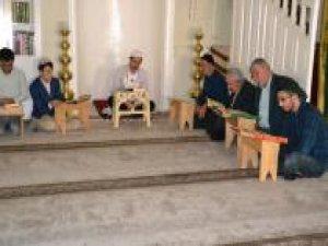 Viranşehir'de ilk mukabele yapıldı