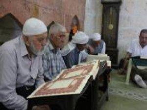 Peygamberler Şehri'nde ilk mukabele heyecanı