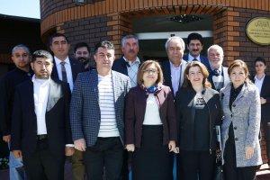 Şahin, Gaziantep'te radyo yöneticilerini ziyaret etti