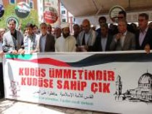 Siyonist işgalci katiller Mardin'de lanetlendi