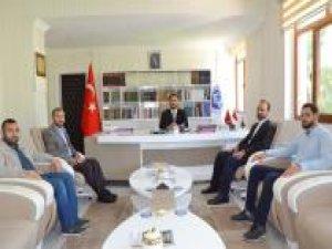 İLKHA'dan yeni Diyarbakır Müftüsüne Karabayır'a ziyaret