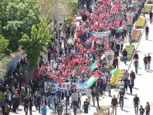 Van'da binler Kudüs için yürüdü