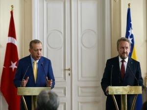 """""""Türkiye, Bosna Hersek'in barış ve refahının idamesi için her türlü desteği vermeyi sürdürecektir"""""""