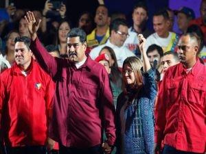 Nicolas Maduro yeniden devlet başkanlığına seçildi