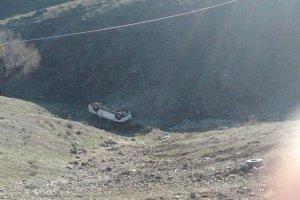 Bingöl'de cenaze dönüşü kaza: 5 yaralı