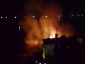 Siyonistler balıkçı teknelerini vurdu