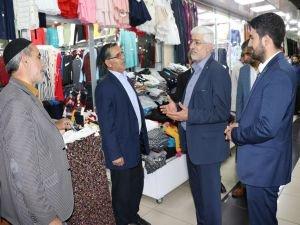 HÜDA PAR Bingöl milletvekili adaylarından esnaf ziyareti