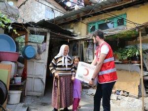Kızılay'dan ihtiyaç sahiplerine Ramazan'da 50 milyon TL'lik nakdi yardım