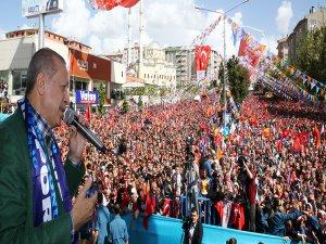 """Erdoğan: """"Vakit birlik vakti, vakit Türkiye vakti"""""""
