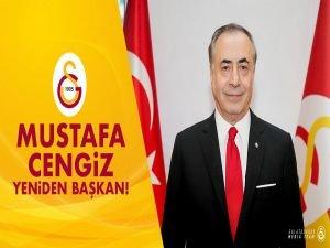 Mustafa Cengiz yeniden Galatasaray başkanı oldu