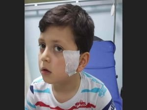 Maganda Kurşunu küçük çocuğu yaraladı