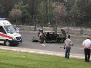Gaziantep'te trafik kazası: Bir ölü 14 yaralı