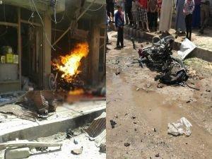 Cerablus'ta patlama: 4 ölü 6 yaralı