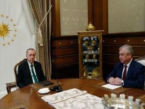 Erdoğan Putin'in Suriye özel temsilcisini kabul etti