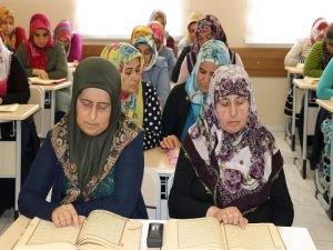 """Gaziantepli kadınlar: """"Mukabeleye katıldığımız için çok mutluyuz"""""""
