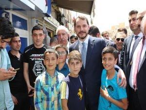 Enerji Bakanı Albayrak Mardin'de