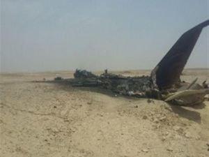 İran'ın askeri uçağı düştü