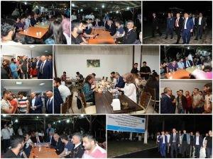 Protokol üyeleri üniversiteli öğrencilerle iftar açtı