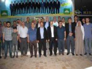Şanlıurfalı aşiretlerden HÜDA PAR'a destek