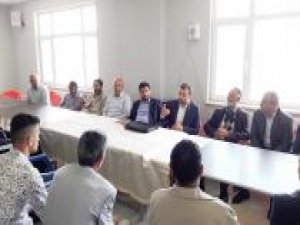 HÜDA PAR milletvekili adaylarından köylere ziyaret