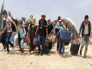 30 bin Suriyeli bayram için ülkesine geçti