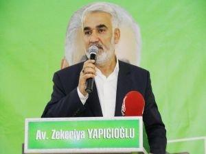 """Yapıcıoğlu: """"Milleti oy deposu olarak görmeyeceğiz"""""""