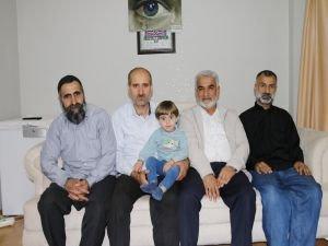Yapıcıoğlu Yasin Börü'nün ailesini ziyaret etti