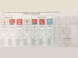 """Diyarbakır'da kullanılacak """"Oy Pusulası"""" belli oldu"""