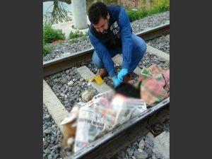 Ev sahipliği yapamadık; Suriyeli kadın trenin önüne atladı