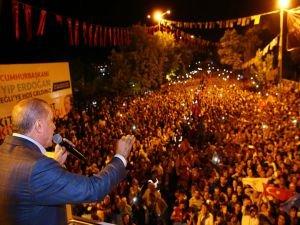Cumhurbaşkanı Erdoğan Kandil'e operasyon sinyalini yineledi