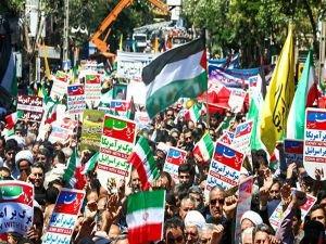 İran'da Dünya Kudüs Günü yürüyüşleri