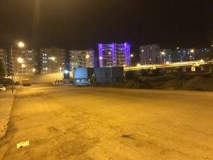 İstikbal Caddesine 2500 ton asfalt