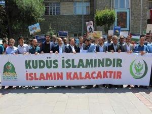 """Elazığ'da """"Dünya Kudüs Günü"""" açıklaması"""