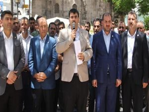 Adana'da Kudüs açıklaması