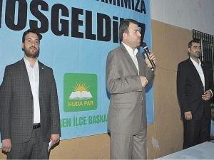 HÜDA PAR Genel Başkanı Yavuz iftar programına katıldı