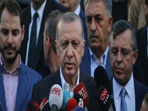 Erdoğan'dan bayram namazı sonrası bedelli açıklaması