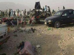 Afganistan'da bayramlaşmaya saldırı: 20 ölü