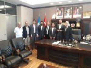HÜDA PAR Gaziantep'te siyasi partilerle bayramlaştı