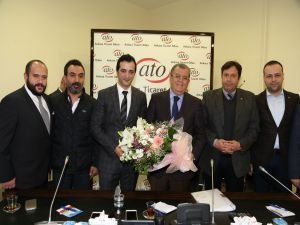 ANGİAD'ın yeni yönetiminden ATO'ya ziyaret