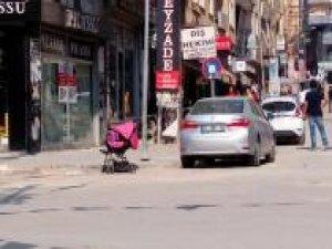 Sahipsiz bebek arabası paniğe neden oldu