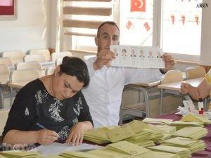 Düzce'de oylar yeniden sayılıyor