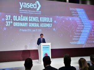 YASED 37. Genel Kurulu, Ekonomi Bakanı Nihat Zeybekci'nin katılımıyla gerçekleştirildi
