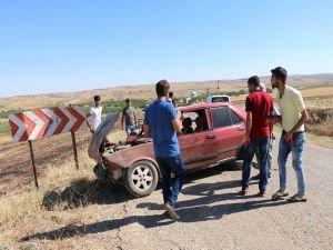 Kahta'da trafik kazası: 4 yaralı