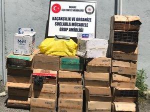 Van'da kaçak sigara operasyonları devam ediyor