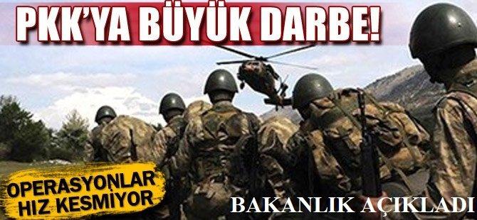 Hakkâri'de 6 PKK'lı öldürüldü