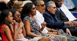 Obama Ailesiyle Yankee Stadı'nda